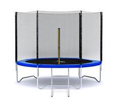 Gartentrampolin Outdoor Trampolinmit Sicherheitsnetz und Leiter bis 150 kg Kom