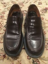 940c7086c74 EUC Banana Republic Brown Leather Mens 8.5 Loafer Shoes Vero Cuoio Made in  Italy