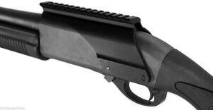 Remington 870 12 ga saddle tactical scope sight rail mount hunting tactical home