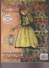 Somerset Studio Magazine Sept/Oct 2013, The Art Of Paper And Mixed-Media.