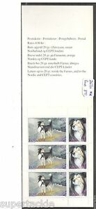 1994 Faroe Islands SC#267a Sheepdogs Booklet MNH stamps