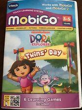 New VTech Dora The Explorer Twins Day Mobigo & Mobigo 2 Nickelodeon