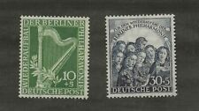 GERMANY BERLIN SC# 9NB4-5 MH STAMPS