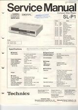 TECHNICS-sl-p1 - Service Manual Istruzioni per CD Player-b6039