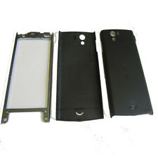 Case Fascia Housing Back Battery Cover Black Tools Fits S. Xperia Ray ST18 ST18i