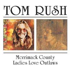 TOM RUSH - MERRIMACK COUNTY/LADIES LOVE OUTLAWS  CD NEW+