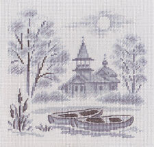 Counted Cross Stitch Kit A Mist over the River