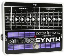 Pédales d'effets guitare électrique Electro-Harmonix pour guitare et basse