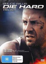 Die Hard Trilogy Boxset (DVD, 2007, 4-Disc Set)