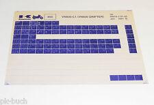Microfich Ersatzteilkatalog Kawasaki VN 800 Drifter Stand 01/2001