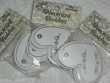 Heart Place Cards, 25pc, Wedding Sitting Chart, Rehearsal Dinner, Gift Tags, NEW