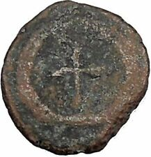THEODOSIUS II 425AD  Ancient Roman Coin Cross within wreath of success  i32907