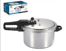 ALUMINIUM KITCHEN PRESSURE COOKER CATERING QUALITY PRESSURE COOKER NEW 4 LTR