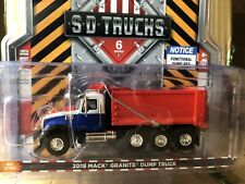 Greenlight Sd Trucks Series 6. 2019 Mack Granite Dump Truck