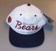 Autographed Bryan Cox Chicago Bears Hat Cap #52 One Size Fits All 100% Authentic