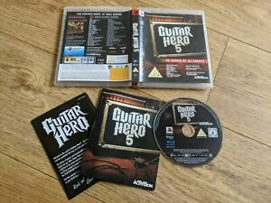 Guitar Hero 5 (PS3) - Tested And Complete - Game Only - Free P&P
