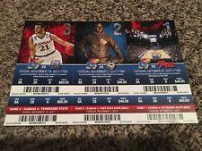 Kansas Jayhawks 3 Piece Lot Full Ticket Stubs 2017-18 KU Allen Fieldhouse CHAMPS