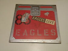 EAGLES - EAGLES LIVE - 2 LP 1980 MADE IN ITALY - GATEFOLD COVER INCL. POSTER -DP