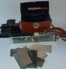 Voigtlander Stereflektoskop  lens dual Heliar