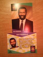 Teddy Pendergrass ProSet Super Stars MusiCards (1991) US 1 card: #131