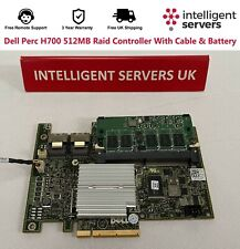 More details for dell perc h700 512mb raid controller with cable & battery - xxfvx
