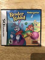 Reader Rabbit Kindergarten (Nintendo DS, 2009)