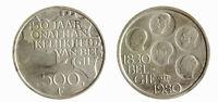 s1543_1) BELGIO 500 FRANCHI 1980 150° INDIPENDENZA