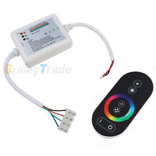 Wireless RF Touch Panel Dimmer Remote Controller for RGB LED Strip Lighting 12V