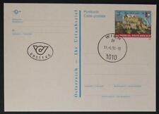 Postkarte Burg Hohenwerfen mit Ersttag Tagesstempel