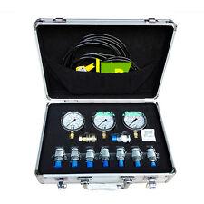 Excavator Hydraulic Pressure Gauge Tester Test Kit for Caterpillar