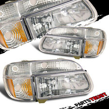 1995-2001 Ford Explorer/1997 Mercury Mountaineer Chrome Headlights+Corner Lights