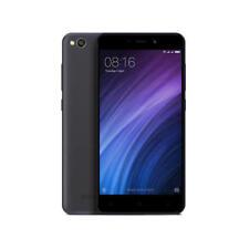 Teléfonos móviles libres negros Xiaomi Redmi 4A con conexión 4G