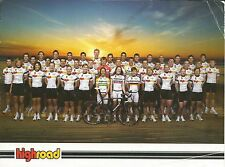 Cyclisme, ciclismo, wielrennen, radsport, cycling, EQUIPE HIGHROAD 2008