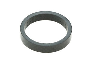 """Wheels Manufacturing 1.5"""" CARBON Headset Spacer 8mm Stack Height Black 1-1/2 NEW"""