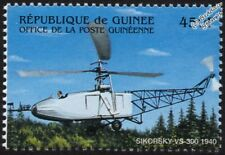 Vought-Sikorsky VS-300 (S-46) Prototype Experimental Helicopter Aircraft Stamp
