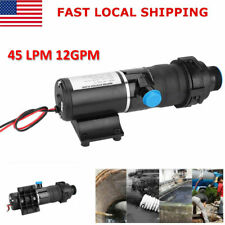 DC12V Quick Release RV Mount Macerator Waste Water Pump 45 LPM 12GPM US
