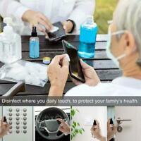 50-120ml Portable Empty Spray Bottles For Travel Transparent Bottle Plastic