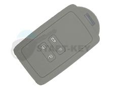 Renault  Schlüssel Karte Silikon Hülle Cover Megane 4 Kadjar Clio Captur Grau
