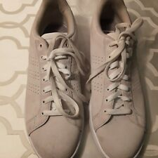 Adidas Tennis Shoe men size 11 suede off white