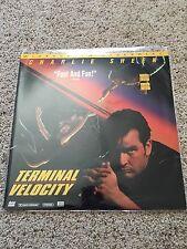 Terminal Velocity Widescreen Laserdisc - Charlie Sheen