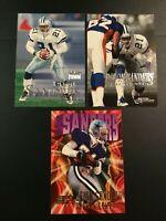 1998-1999 Skybox DEION SANDERS Lot 3 Dallas Cowboys MUST SEE ! LOOK !!