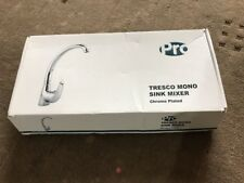 TRESCO MONO SINK MIXER MODERN DESIGN AND CHROME FINISH SINGLE LEVER ACTION