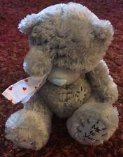 "Tiny Me To You Gray Bear Plush with Handkerchief 5"""