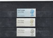 GB STAMPS POST AND GO LABELS DEFINITIVES