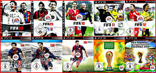 SONY PS3 8 GAMES: FIFA 9 - FIFA 14 FUSSBALL - DEUTSCHE VERSIONEN