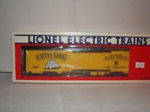 "Lionel #6-9827 ""CUTTY SARK"" BILLBOARD REEFER NIOB BLT 1-84"
