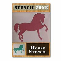 Horse Leg Up Mylar Airbrush Painting Wall Art Stencil (A2 Size Stencil - Large)