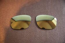 PolarLenz POLARIZED 24k Gold Replacement Lens for-Oakley Sliver Sunglasses