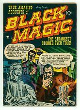 BLACK MAGIC V1#6 VG- 3.5 JOE SIMON JACK KIRBY ART PRE-CODE HORROR COMIC 1951