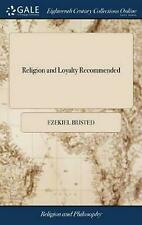 Religion and Loyalty Recommended: From the History of Pious Princes Ministring t